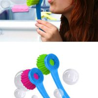 Bubble Blowing Dish Scrubber