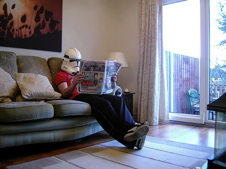 clone trooper newspaper