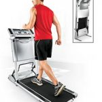 Evolve Treadmill Folds Flat to 10 Inches
