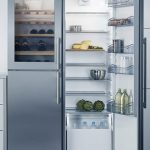 Fridge With Built-In Wine Cooler Section