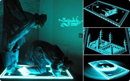 Illuminated Prayer Rug