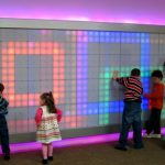 Giant Interactive LED Wall: Supersized LiteBrite
