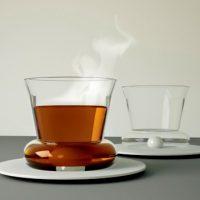 Spoonless Drink Stirring Glass