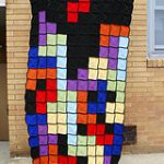 Tetris Afghan Blanket Breaks Hearts