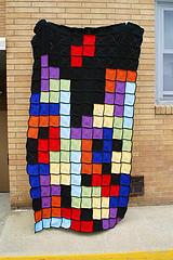 Tetris Afghan