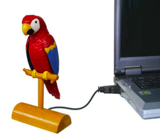 usb parrot Pinboard