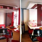 BedUp Ceiling Mounted Murphy Bed Saves Space, Looks Cool