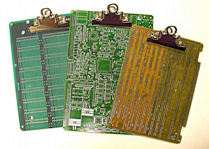 Recycled Circuitboard Clipboards