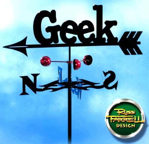geek weathervane