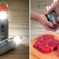 LED Lantern Salt and Pepper Shakers Spice Up Your BBQ