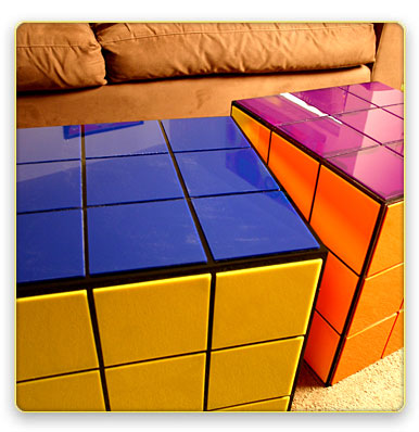 rubiks cube table