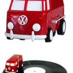 VW Bus Drives on your Records, Plays Music