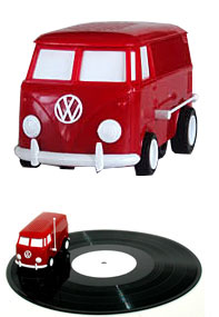 vw bus record player Pinboard