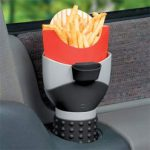 French Fry Holder Fits in your Car's Cupholder