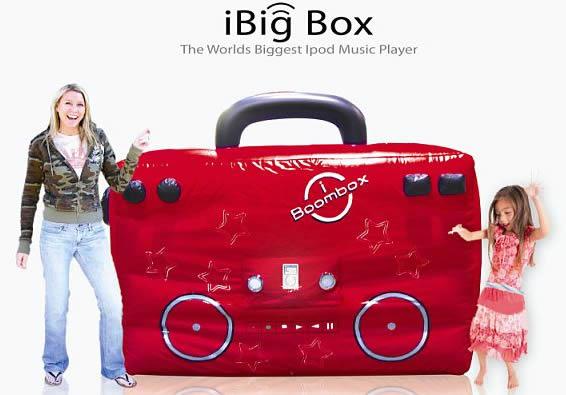 ipod giant boombox