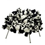 Panda Chair Looks Comfy