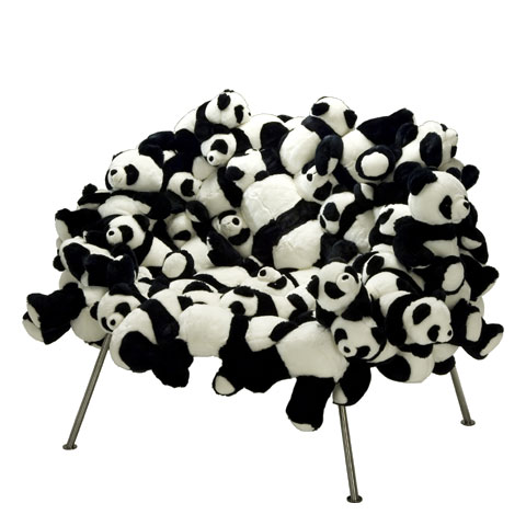 panda chair Pinboard