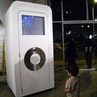 iPod Porta Potty is a Porta-Party