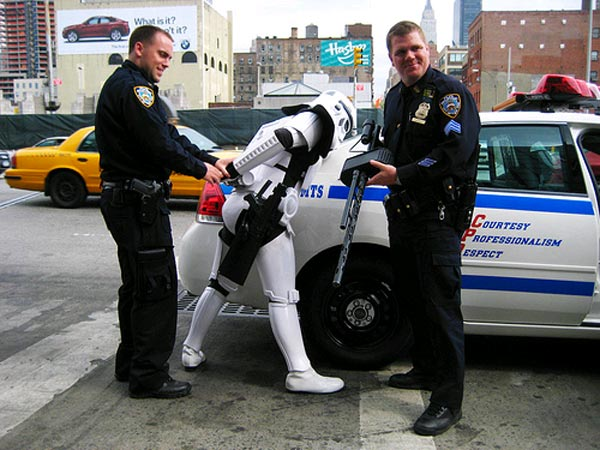 storm trooper arrest Pinboard