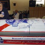 Pabst Beer Can Coffin