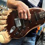 Bigfoot Guitar is Bigfoot's Big Foot