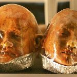 Bread Shaped Like Realistic Human Heads