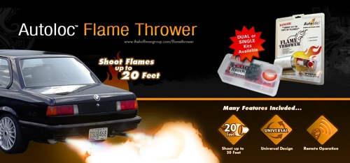 flamethrower kit