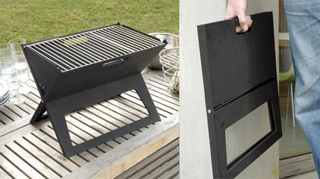 fold flat grill