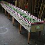 Table Football XXL 20 Foot Long Foosball Table