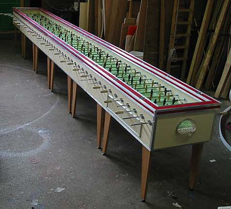 foosball giant table