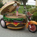 Hamburger Motorcycle