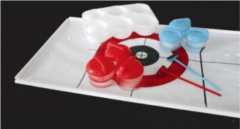 ice cube curling game
