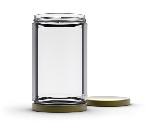 jar with 2 lids