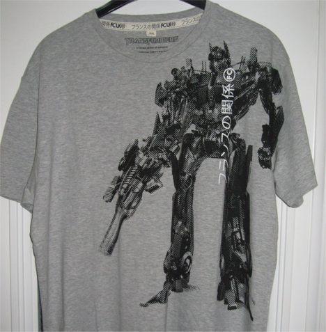 transformer shirt Pinboard