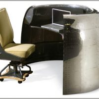 Furniture Made from Old Jet Airplane Parts
