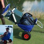 Beach Chair Converts to a Cart