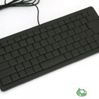Leather Keyboard has no Letters