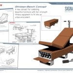 Ottoman Converts to Self Contained Exercise Bench