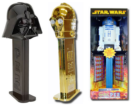 star wars giant pez Pinboard