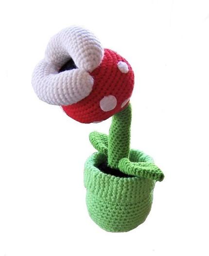 Super Mario Plant Crochet Craziest Gadgets