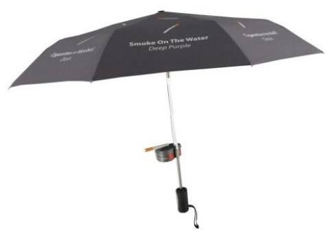 umbrella with ashtray Pinboard