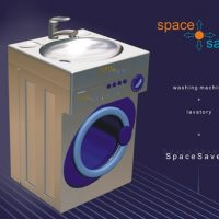 Washing Machine Sink Combo Saves Space