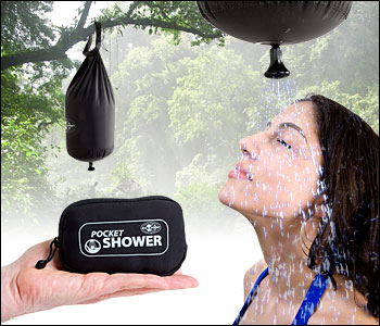 pocketshower Pocket Shower for Backcountry Cleanliness