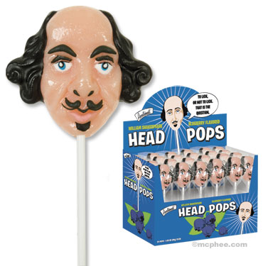 shakespeare head pops Pinboard