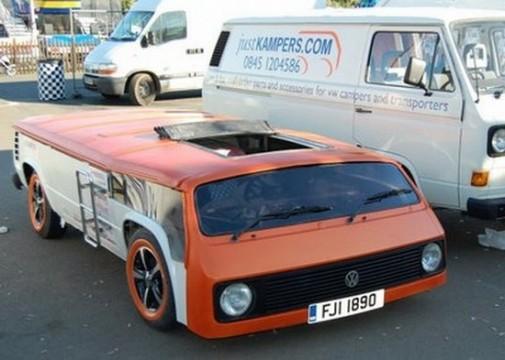 Vancake is a Flattened VW Bus