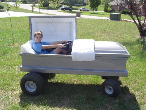 coffin car Random