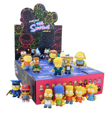 Best. Simpsons Product. Ever.  Kidrobot Vinyl Simpsons Mini Figures