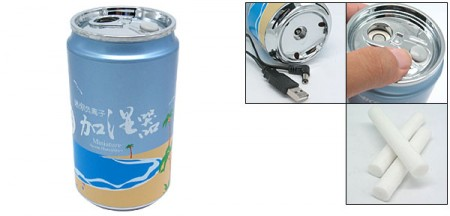 soda can humidifier 450x216 USB Soda Can Humidifier