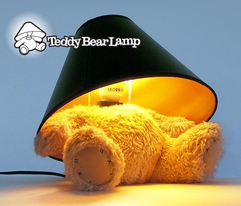 Teddy Bear Lamp is the Cutest Ever