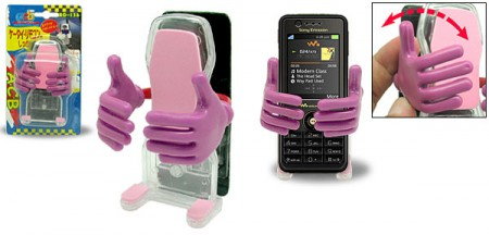 Big Hug Cell Phone Holder Gives Your Phone a Hug